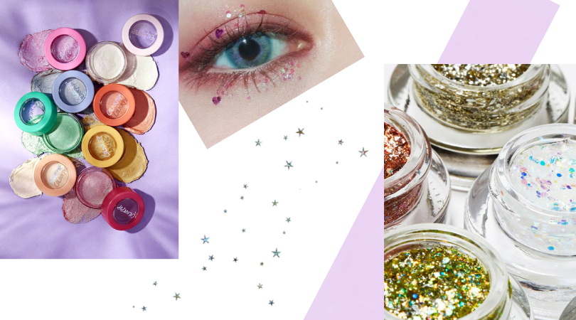 jelly makeup products collage